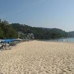 Strand Kata Noi nach Süden