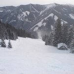One of the best pistes of Saalbach