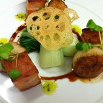 Belly of Pork and Scallops