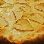 Maso's pear and parmesan pizza - yum!