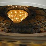 il soffitto della sala ristorante