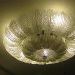 il lampadario della hall