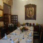 the dining room (probably only for special occasions!)