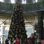 christmas time from the lobby