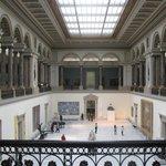 Внутри музея изящных искусств в Брюсселе
