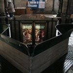 la fonte battesimale della Salisbury Cathedral