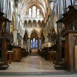 Interno della Salisbury Cathedral