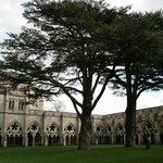 la corte interna della Salisbury Cathedral