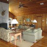 Livingroom in the River Lodge
