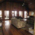 Livingroom in River Lodge