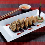 Hong Ngoc stuffed snail spring rolls