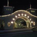 Entrance to Boardwalk hotel