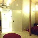 Inside my cabin.