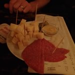 Salami and chees beer snack - Yummy!!!