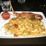 lobster pasta! to die for