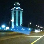 Vista do hotel na I-Drive