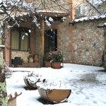 ingresso....con neve