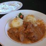 Pork Gulasz w/mashed potatoes