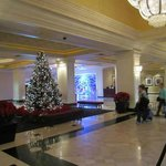 Lobby right before Christmas
