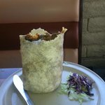 Any burrito that can stand on it's own deserves it's own photo