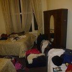 La habitación del hotel. Y viendo la de mis compañeros era una de las mejores.
