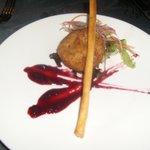 Goatcheese pie at Annabellas- jammy