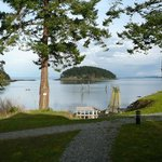 Mayne Island Resort and Spa cabin view
