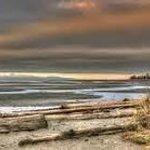 Sunset at Parksville Beach