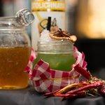My Lolita drink alla rucola miele e peperoncino