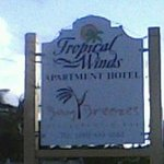 Hotel Sign at the Entrance
