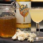 Pop-p-orno drink al pop corn miele e peperoncino
