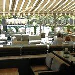From inside the Restaurrant (Solbar)