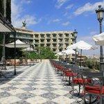 Breakfast and restaurant terrace