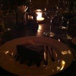 Sobremesa maravilhosa no restaurante do Villa Rasa