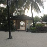 entrance to beach bar