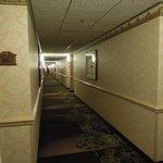 Aged corridor