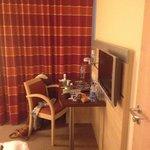 room 203 tv area