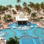 Riu-view from our room, Bldg A, Rooms 811/812