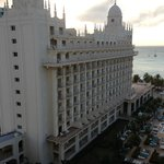 Riu-view of Bldg B from our room