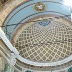 Geometrical design inside of dome
