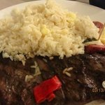 Churrasco con Arroz