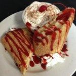 Fried Cheesecake - Amazing Desert