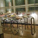 The dessert room 'naughty'