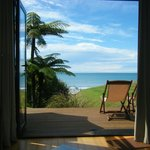 View from settee in Honeymoon Cottage