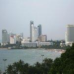 View across Pattaya Bay