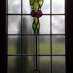 Beautiful Stained Glass Bay Window - I work at a stained glass shop, and these were lovely!