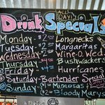 Daily Drink specials at Lillian's Cafe and Coffee House