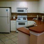"Full kitchen in ""A"" unit - Osprey"