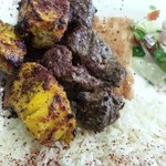 Combination Kabob (Choice of 2 - either Sirloin, Chicken or Ground Beef)