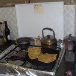 cuisson des crepes